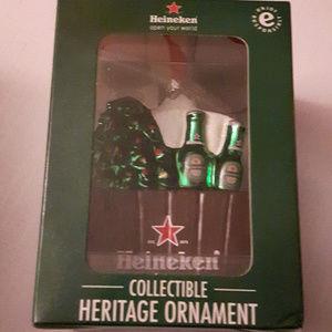 Heineken Heritage Ornament Tree and beer bucket